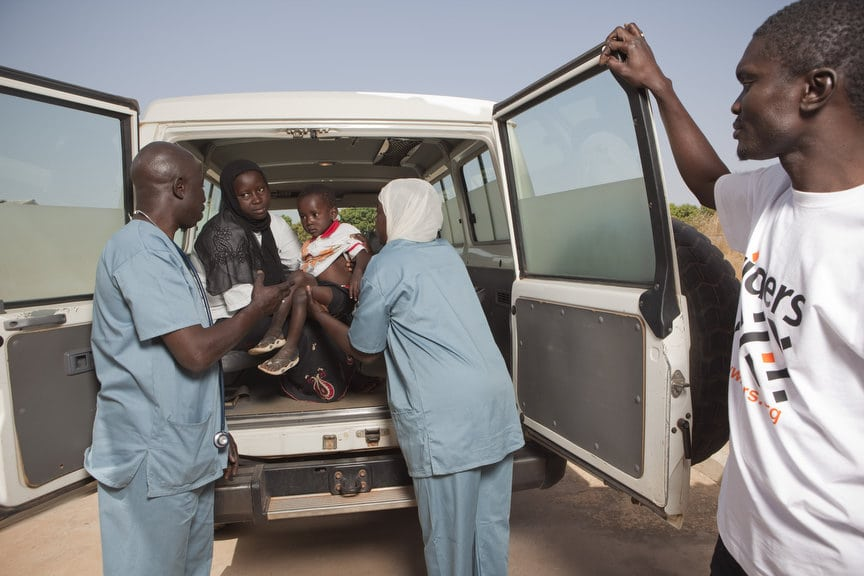 Riders for Health's work in The Gambia, Africa shot exclusively by Tom Oldham