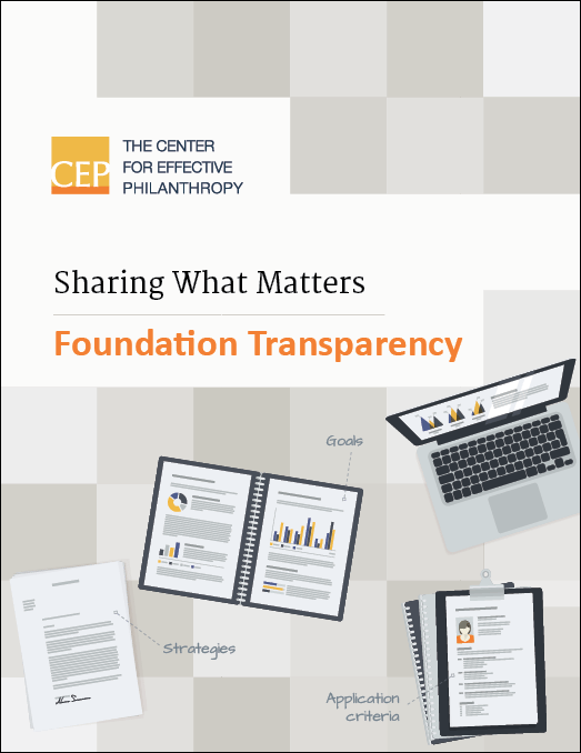 Sharing What Matters report