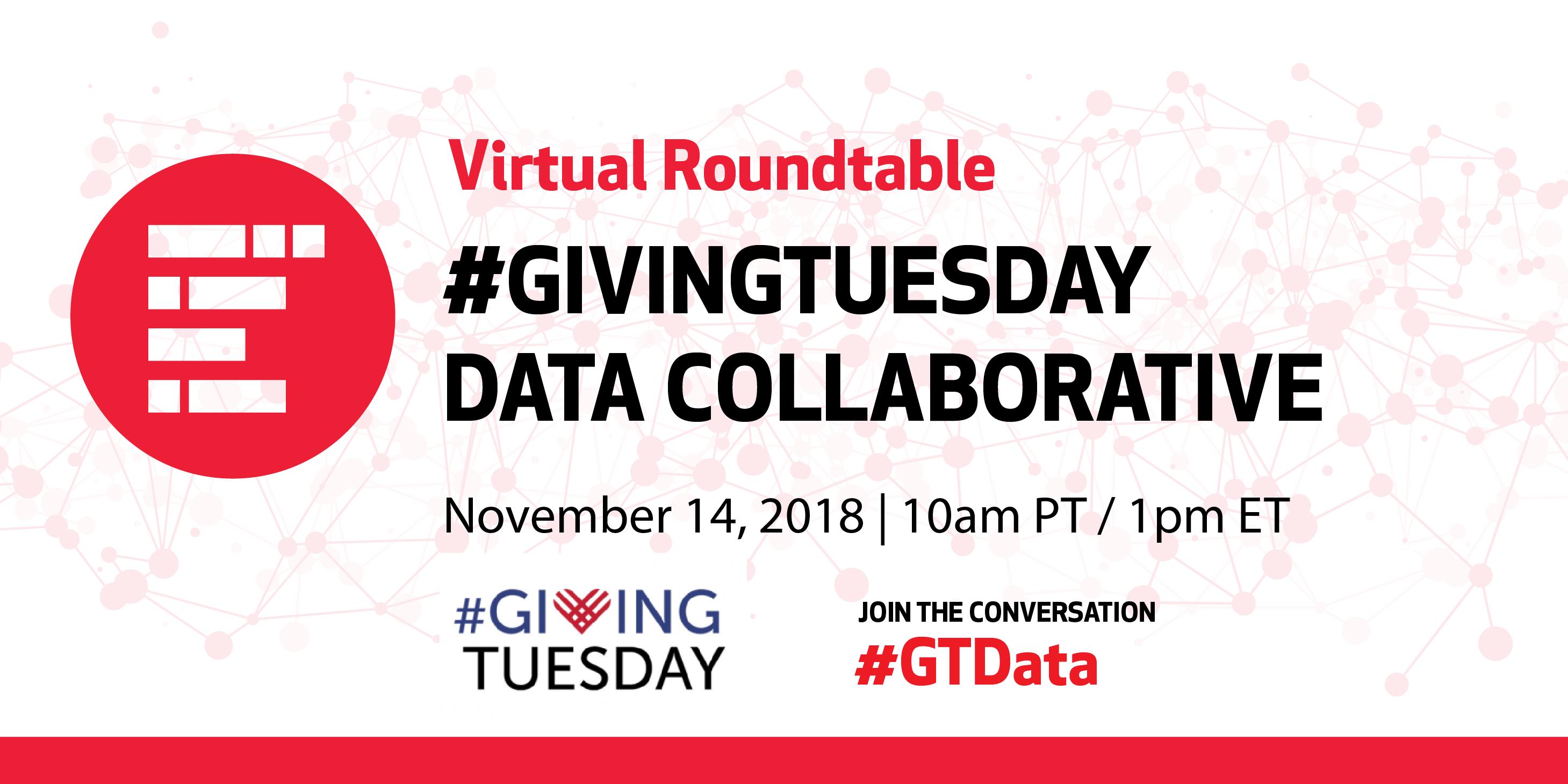 #GivingTuesday Data Collaborative